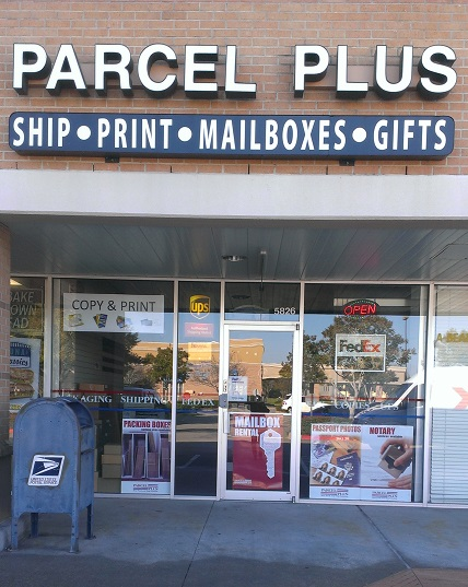 Compare Shipping Rates of FedEx UPS USPS at Parcel Plus in Sugar Land, TX