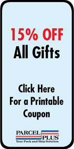 Coupon - 15% Off All Gifts