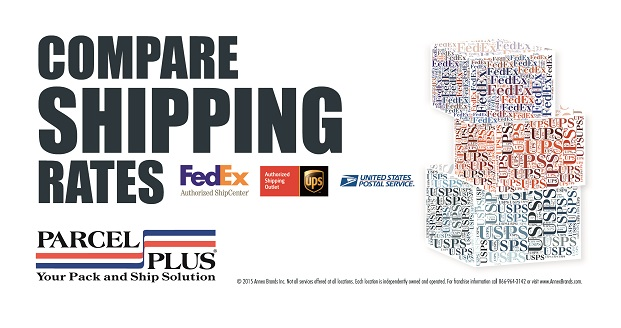 Compare Shipping Rates for UPS, FedEx & USPS at Parcel Plus