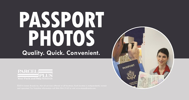 Passport Photos at Parcel Plus